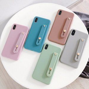NEW iPhone 11/Pro/Max Wrist Strap Candy case